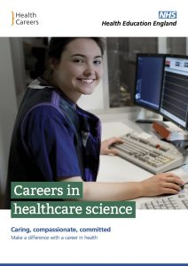 Careers in healthcare science