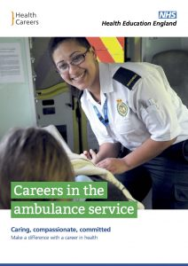 Careers in the ambulance service
