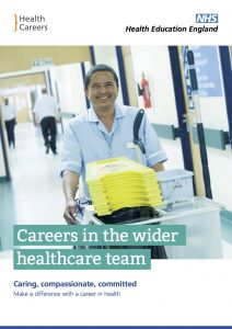Careers in the wider healthcare team